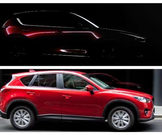 Mazda ev driven mazda cx 5 teaser revealed ahead of debut in la fandeluxe Gallery