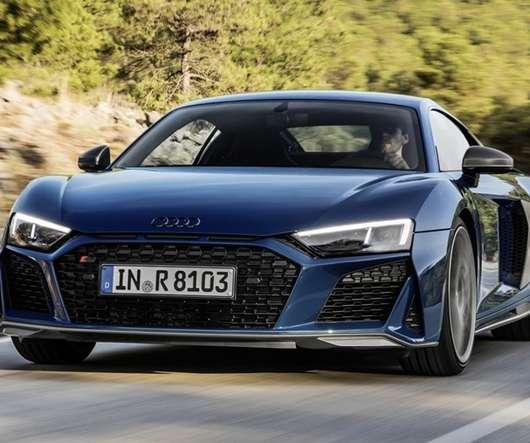 Audi Convertibles 2018: EV Driven
