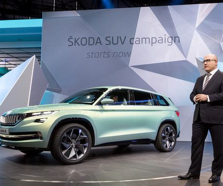 Škoda Showcases Mqb Based Plug In Hybrid Visions Concept At Geneva Production Phev 2019 Followed By Bev